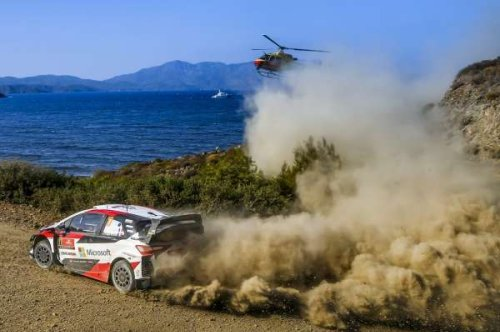 Ogier and Neuville locked in battle after five stages on Rally Turkey