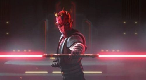 """'Star Wars' Fans Can't Unsee Horrifying Image of """"Smooth Maul"""""""