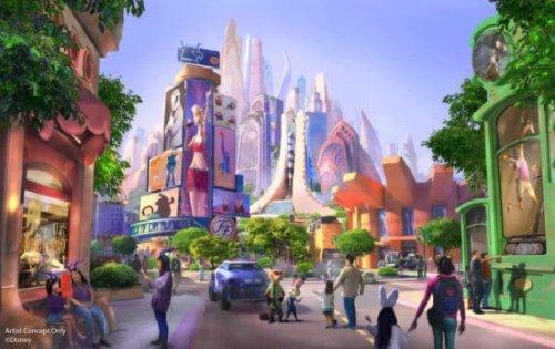 Disney Imagineers Bring 'Zootopia' to Life With Massive Animatronic