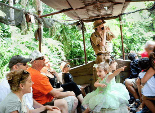 How Props From Haunted Mansion Ended Up at Jungle Cruise