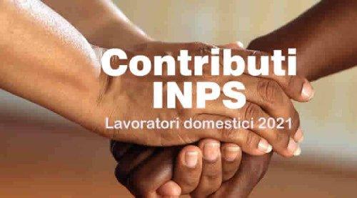 Pagamento Contributi Inps lavoratori domestici, scadenza I trimestre 2021