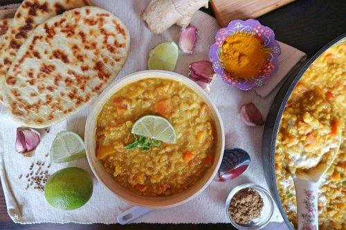 Rote Linsen Dal – Rezept für beliebtes indisches veganes Gericht