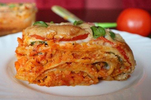 Vegane Lasagne klassisch – das beste Rezept mit Linsen-Bolognese