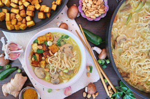 Ramen Suppe – veganes Rezept für beliebte japanische Nudelsuppe