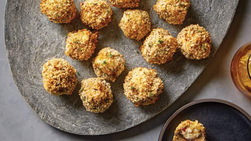 Omni 18L Family – Cheesy Crispy Mushroom Bites – Instant Pot Recipes