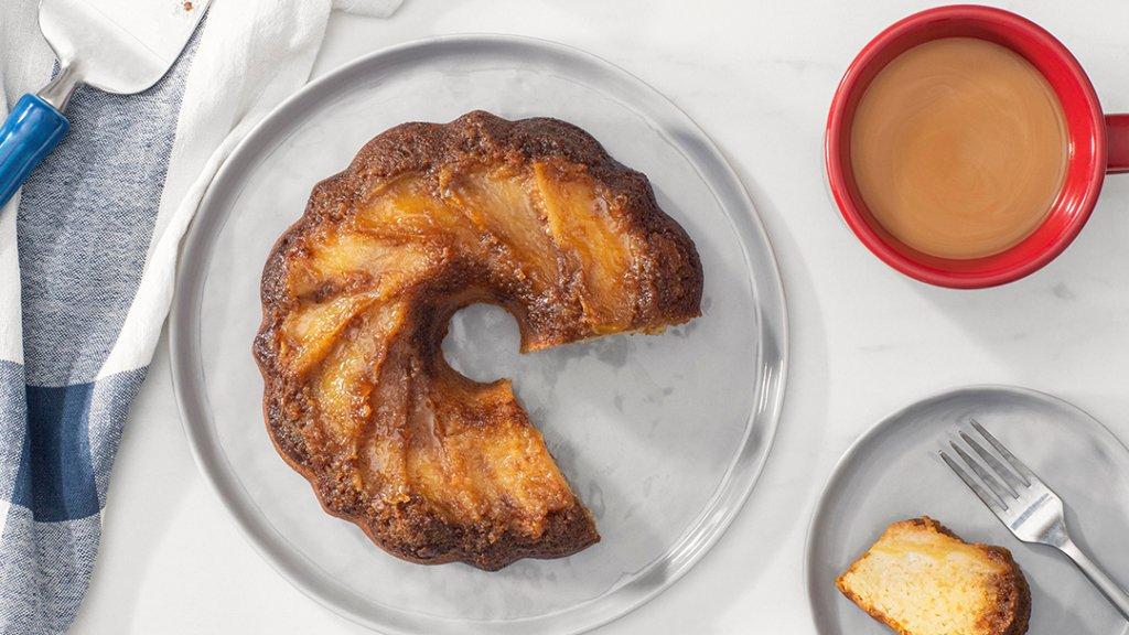 Upside Down Caramelized Apple Cake – Instant Pot Recipes