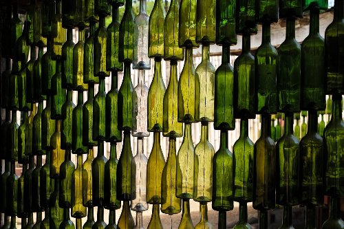 Making the Most of Used Glass Bottles