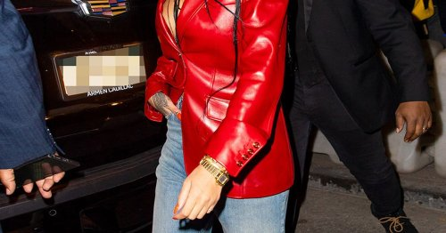 Jeans-Trend im Frühling 2021: So hip stylt Rihanna Ripped Denim