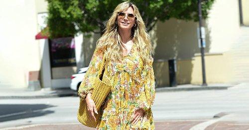 Heidi Klum trägt es schon – DAS Trend-Kleid für den Sommer 2021