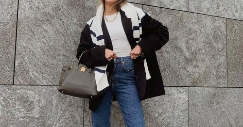 Diesen kurzen Wollmantel werden wir den ganzen Herbst und Winter über tragen – er kostet nur 50 Euro!
