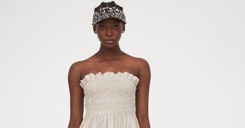 Ganz schön raffiniert! Dieser gesmokte Kleider-Trend von H&M ist ideal für den Sommer