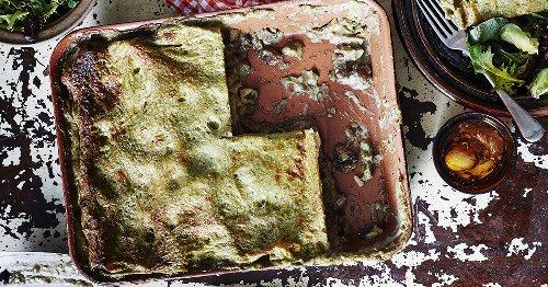 Vegane Pesto-Lasagne: Das Rezept musst du unbedingt probieren