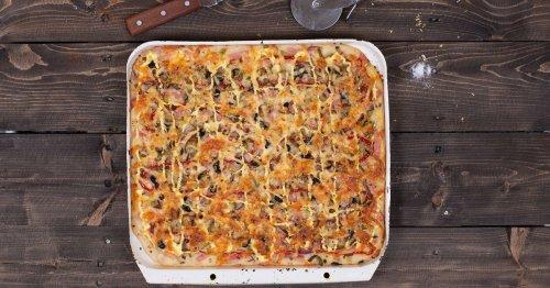 Shake it, Baby! Für die Schüttelpizza brauchst du nur 10 Minuten Zeit – und das Rezept ist auch noch Low-Carb