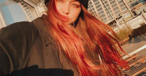 Gigi, SZA und Co. tragen die Haarfarbe bereits: Aperol Spritz ist jetzt Frisuren-Trend