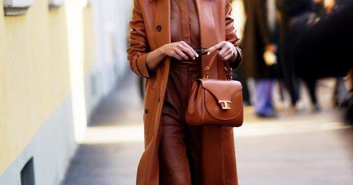 Modetrend: Mit dieser Lederleggings von Edited bist du im Herbst/Winter immer gut angezogen
