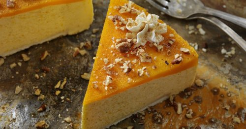 Kürbis-Cheesecake ist DER Food-Trend der Stunde – er gelingt ganz ohne Backen