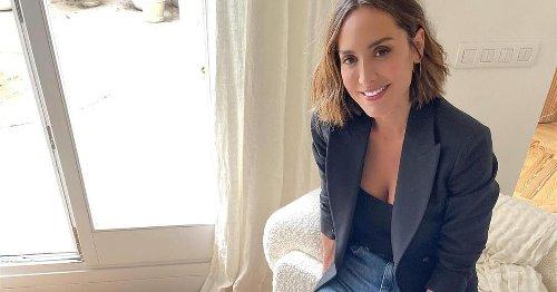 Tamara Falcó elige las sandalias destalonadas de firma asturiana que mejor quedan con jeans rectos