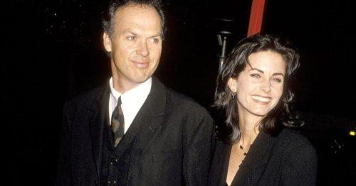 Courteney Cox y Michael Keaton: historia de una primera cita atípica, una discreta relación y una ruptura idílica