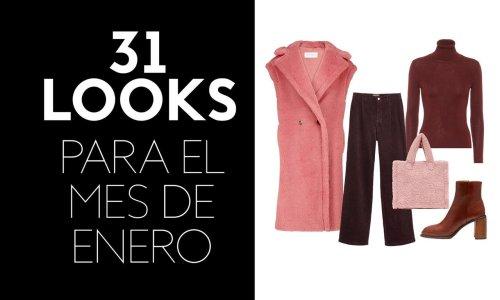 Descárgate gratis 31 looks de moda para enero, ¡uno para cada día del mes!