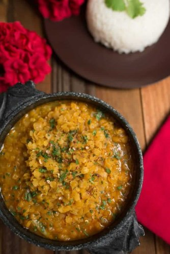 Nepali Dal Bhat (Lentils and Rice)