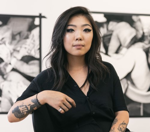 Meet Anna Park, the Artist Channeling Chaotic Energy Through Charcoal