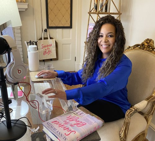 Sunny Hostin's New Beach Read Was Inspired by James Baldwin, Toni Morrison, and Sonia Sotomayor