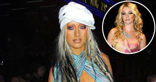 Style Rewind! Photos of Your Fave Stars Going Braless in the Early 2000s
