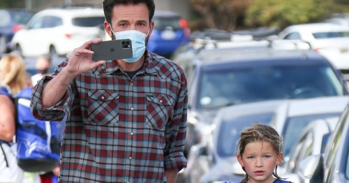 Back on Dad Duty! Ben Affleck Picks Up Son Samuel After J. Lo Getaway
