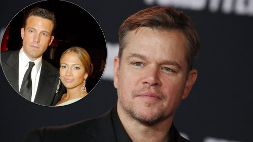 Matt Damon 'Wouldn't Be Surprised' If Ben Affleck and Jennifer Lopez Got Engaged Again