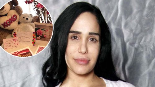 'Octomom' Nadya Suleman Shares Photos From Inside Mother's Day Celebration With Her Kids