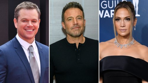 Matt Damon Reacts to BFF Ben Affleck and Jennifer Lopez's Possible Romance: 'I Hope It's True'
