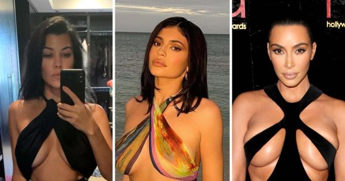 Kar-Jenners Show Off Underboob in Fashion Trend: See Skin-Baring Styles