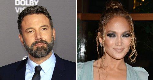 Ben Affleck Spotted Leaving Jennifer Lopez's Home on a Motorcycle