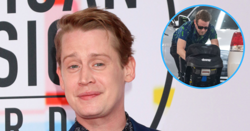 Macaulay Culkin Steps Out for Rare Family Outing With Brenda Song, Son