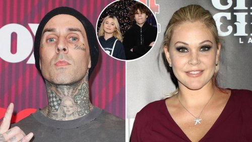 Travis Barker's Son Landon Seemingly Shades Mom Shanna Moakler: She 'Isn't in Our Lives'