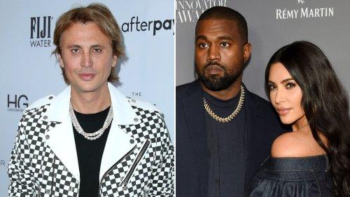 Kim Kardashian's BFF Jonathan Cheban Says She's Not Dating Amid Divorce From Kanye West