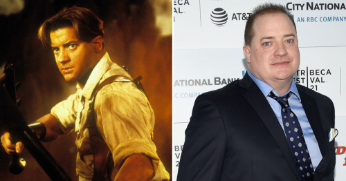 See Brendan Fraser Over the Years From 'The Mummy' to His Latest Comeback