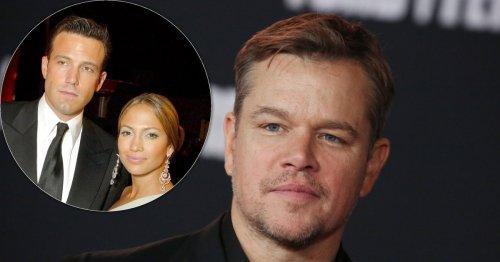 How Matt Damon Feels About Possible Bennifer Engagement Amid Reunion