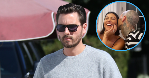 Scott Disick Steps Out With Blonde Influencer Amid Kourtney Engagement
