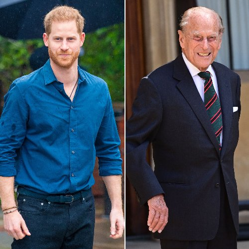 Prince Harry Is 'Looking to Return Home' for Prince Philip's Funeral: They 'Had a Close Relationship'