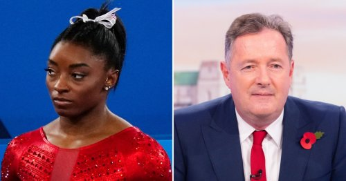 Simone Biles Shades Piers Morgan After He Calls Her Out for 'Quitting'
