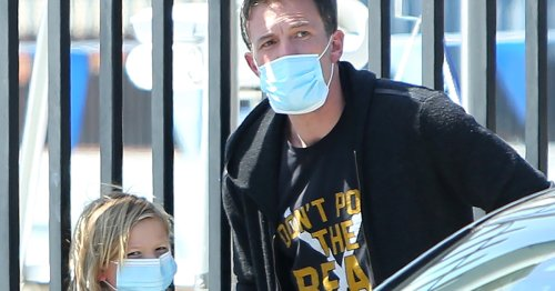 Daddy Duty! Ben Affleck Takes Son Samuel to Swim Team Practice in L.A.
