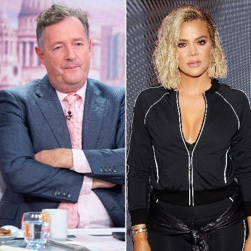 Piers Morgan Slams the Kardashians Amid Khloe's Unedited Photo Drama: 'Utterly Horrifying'