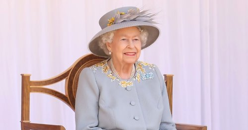 Queen Elizabeth Attends 1st Trooping the Colour After Philip's Death