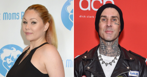 Shanna Moakler Appears to Be Emotional After Travis Covers Her Name Tattoo