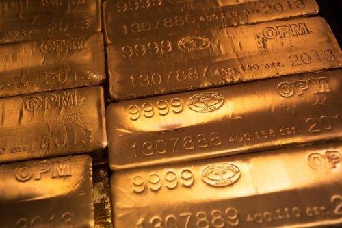 Goldfutures sinken während der Asien Session Von Investing.com