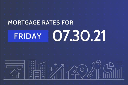 Today's Best Mortgage Rates - July 30, 2021