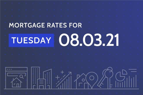 Today's Best Mortgage Rates - August 3, 2021