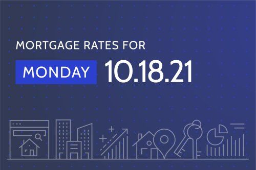 Today's Best Mortgage Rates - October 18, 2021
