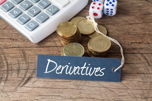 How is the price of a derivative determined?